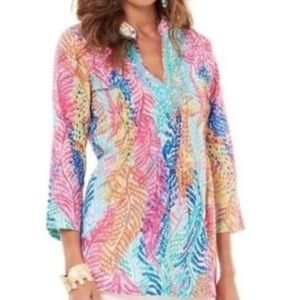 Lilly Pulitzer Beaded Sarasota Tunic